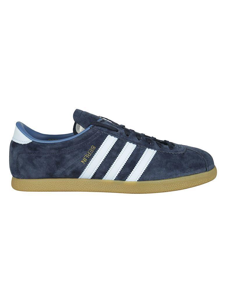 Adidas Originals Berlin Sneakers In Light Blue