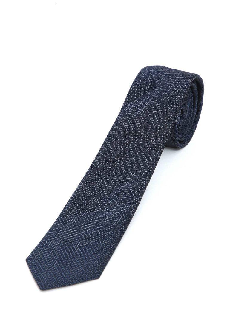 Dior Silk Tie In Blue