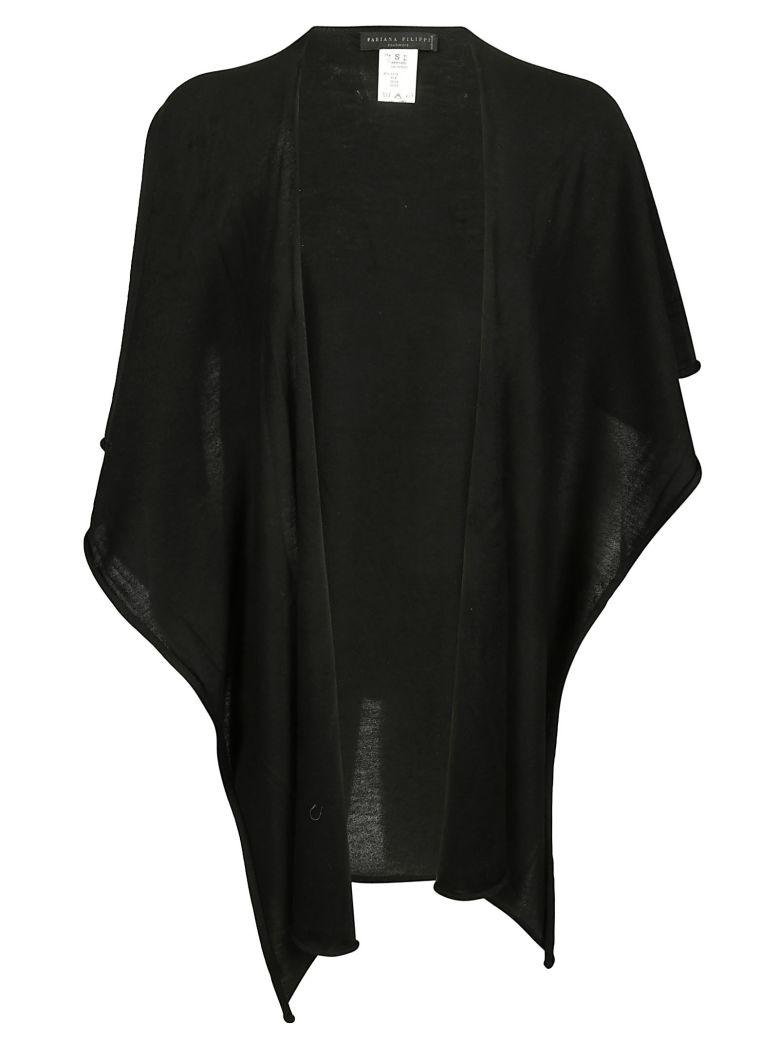 Fabiana Filippi Classic Cape In Black