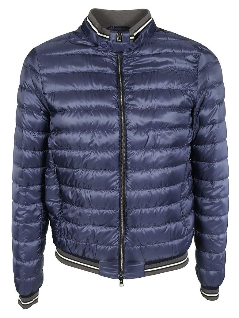 Herno Classic Down Jacket In Blue