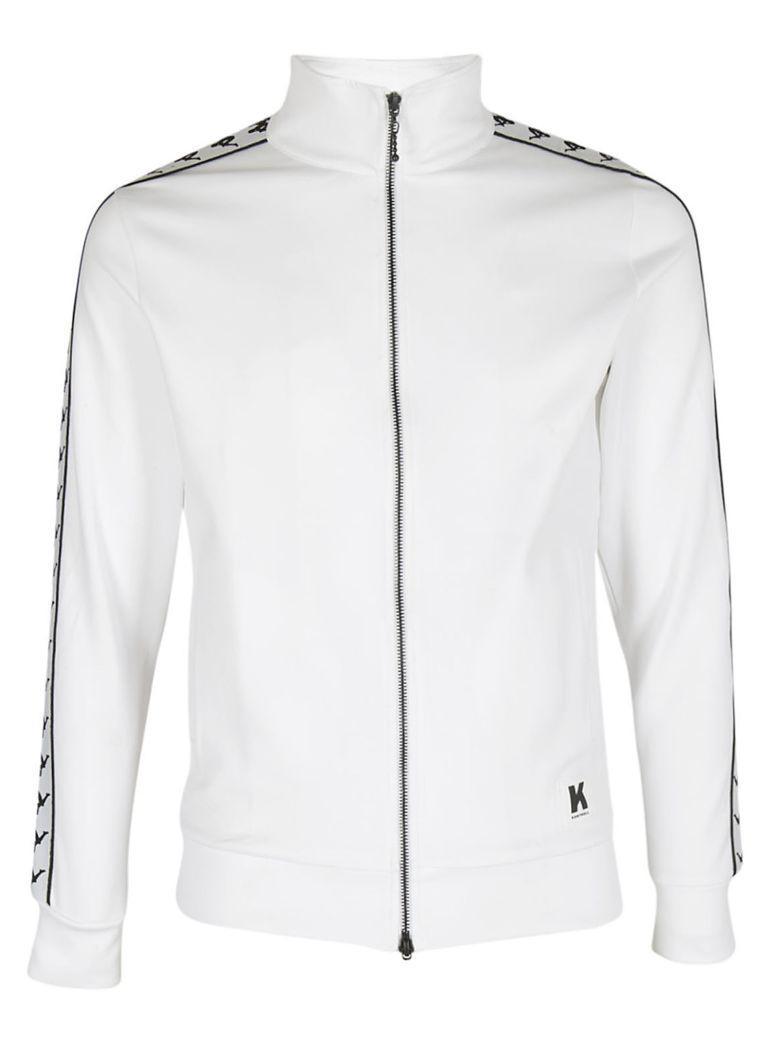 Kappa Kontroll Banda Jacket In Bianco