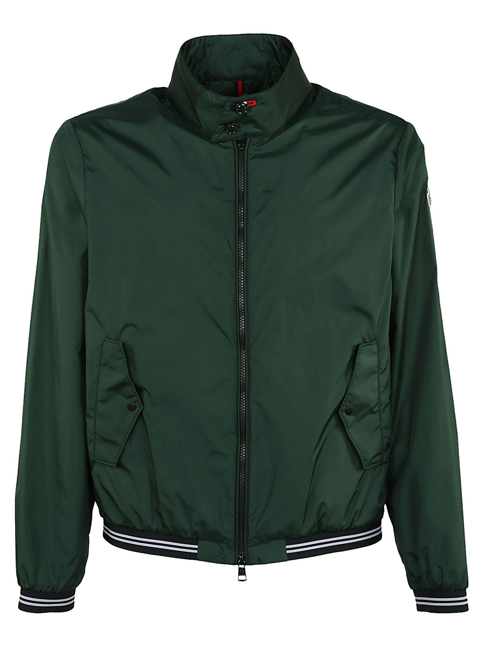 Moncler Classic Jacket In Green