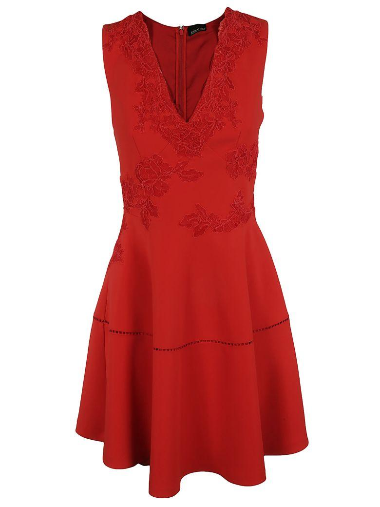 Ermanno Scervino Flared Dress In Red