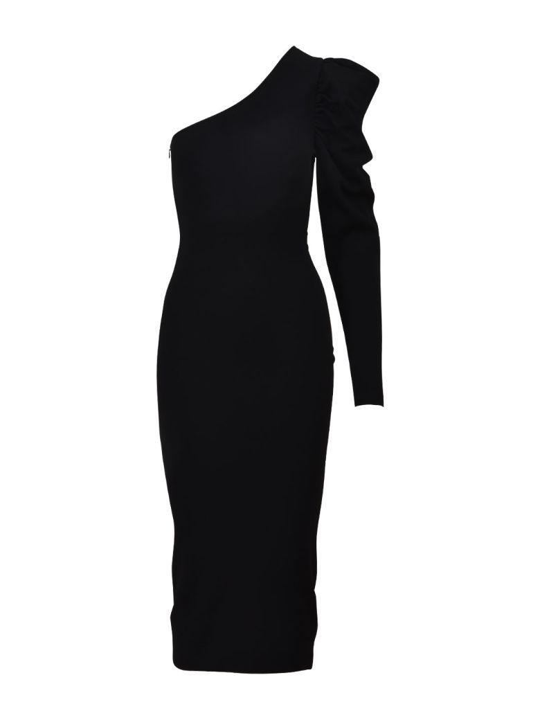 Stella Mccartney One-shoulder Dress Black
