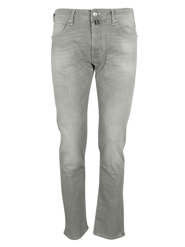 Jacob Cohen Classic Jeans In Grey