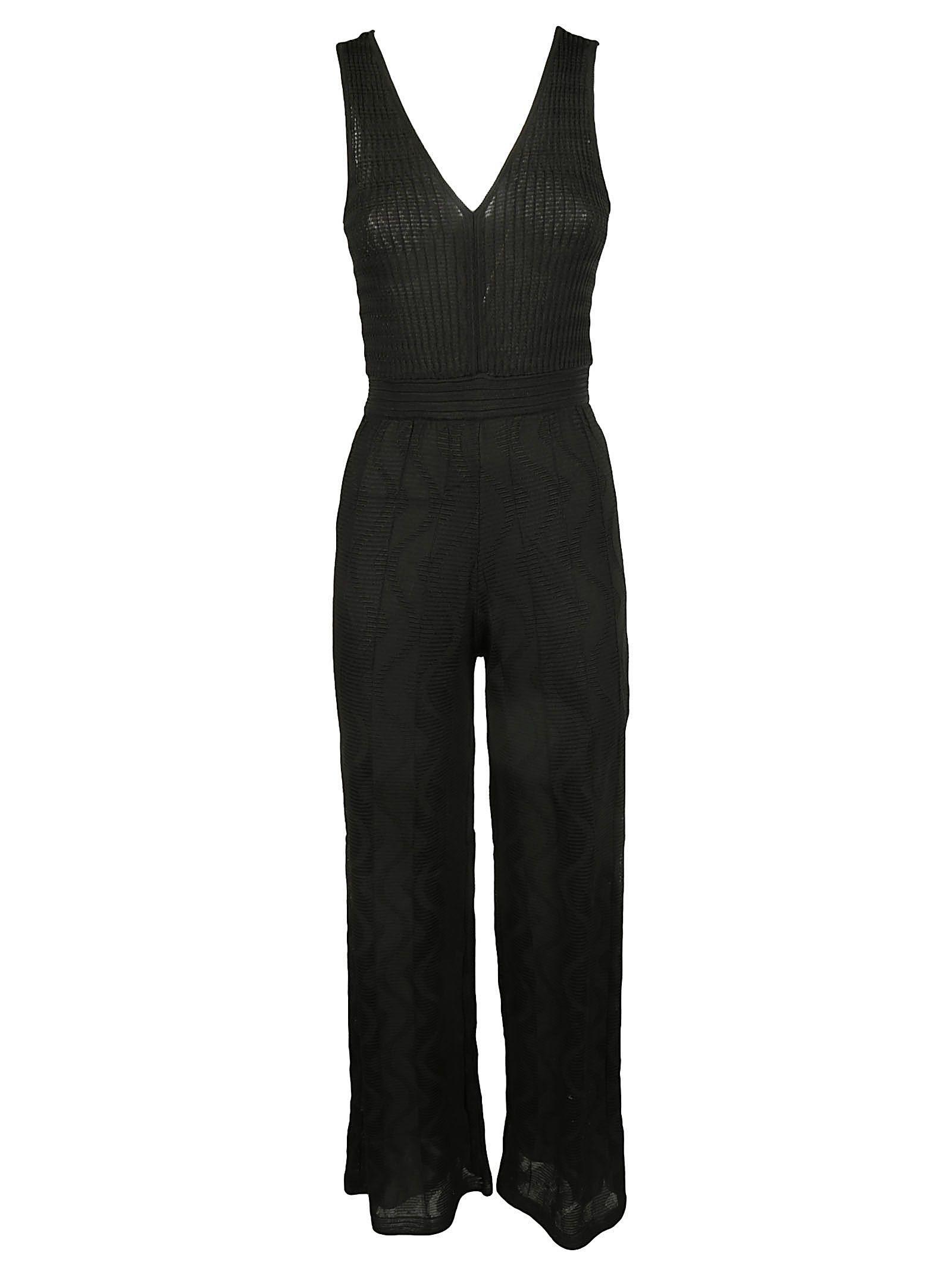 Missoni Lace Jumpsuit In Black