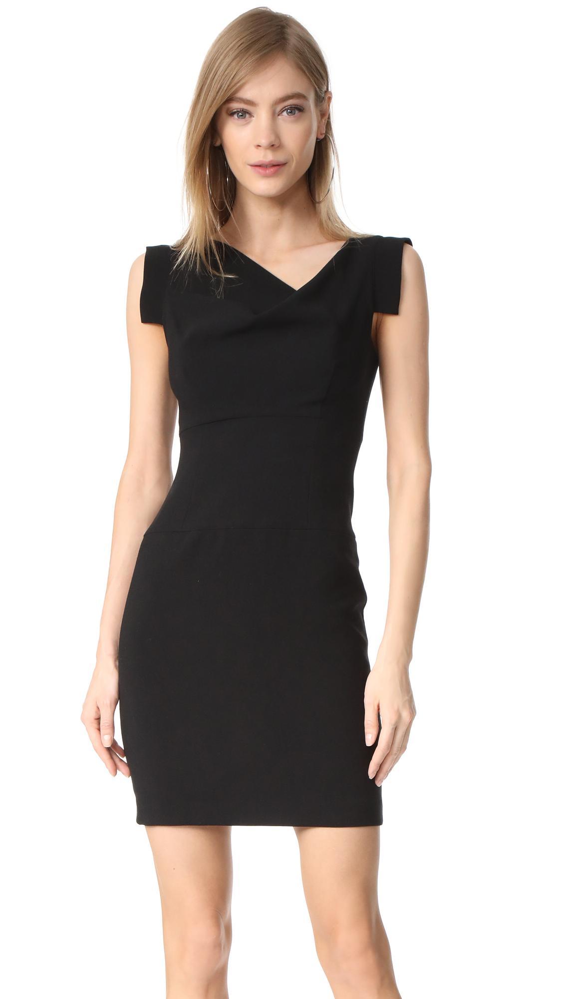 Black Halo Jackie O Mini Dress In Black