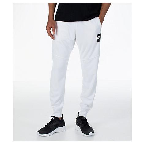 Nike Men's Sportswear Air Track Jogger Pants, White