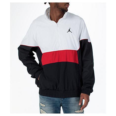 6d9e6b2e6dc Nike Men's Jordan Aj Retro 3 Track Jacket, White/Black | ModeSens