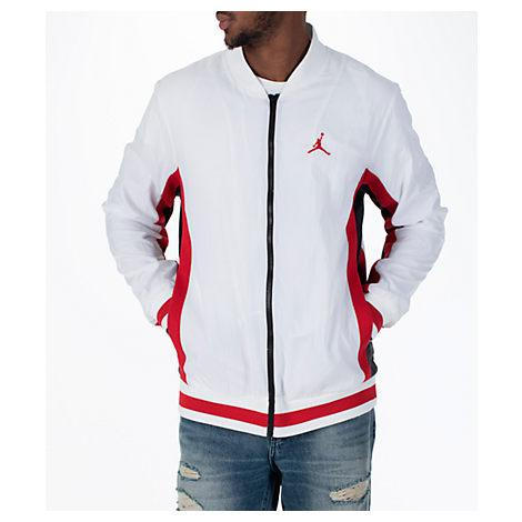 Nike Men's Jordan Sportswear Rings Track Jacket, White