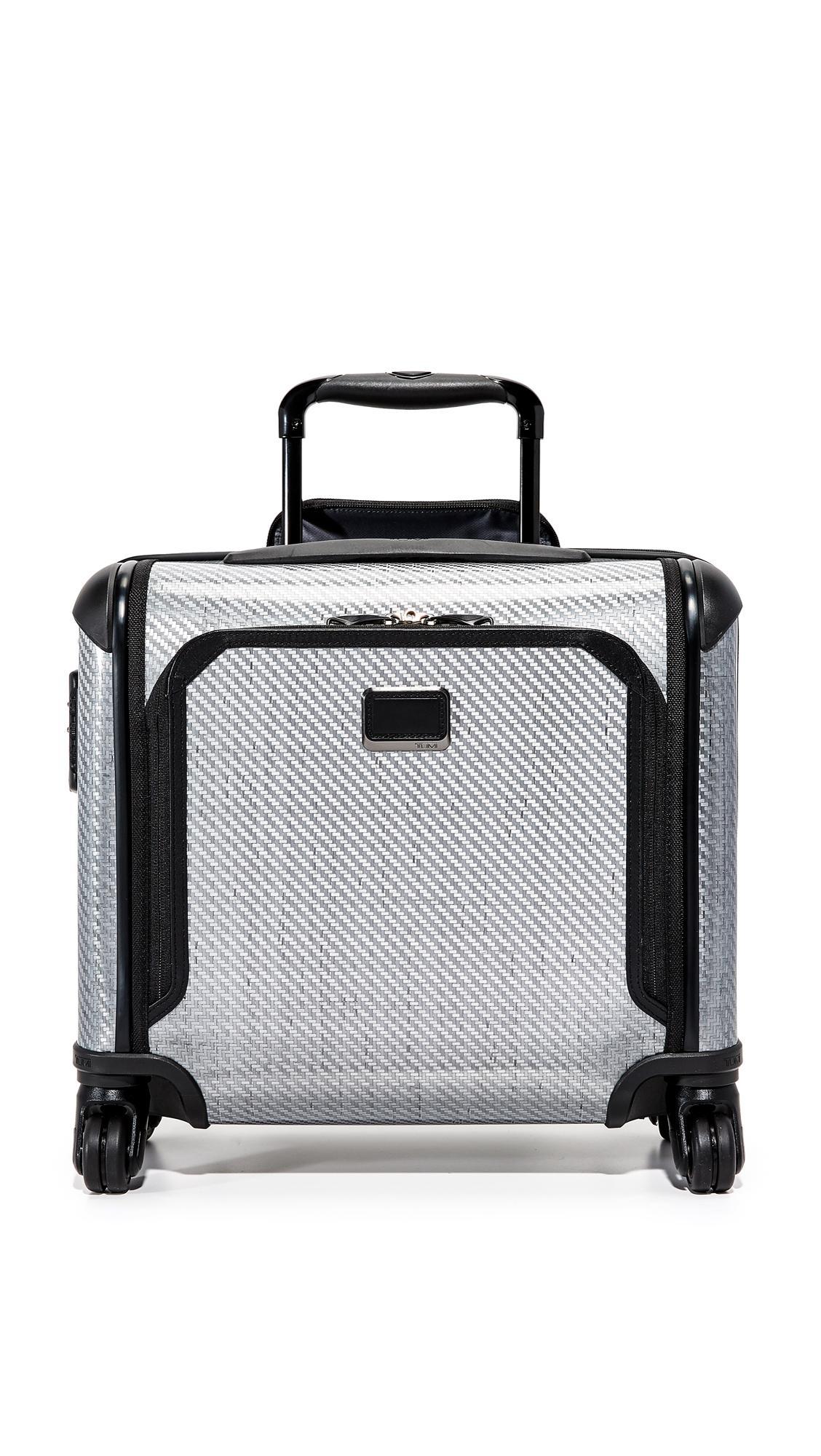 Tumi Tegra Lite Max Carry On Suitcase In T-graphite