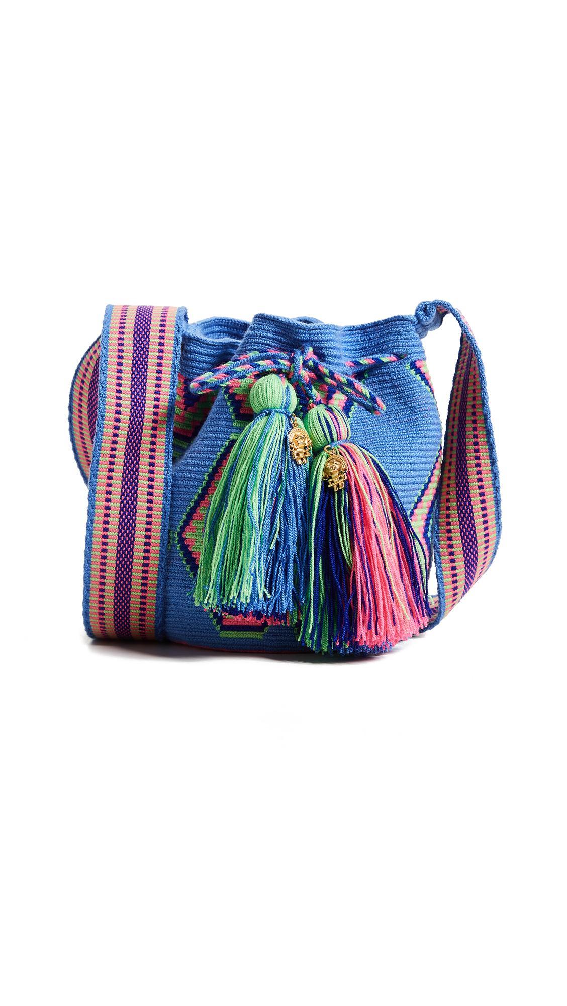 The Way U Mini Mochila Bag In Ulu Blue