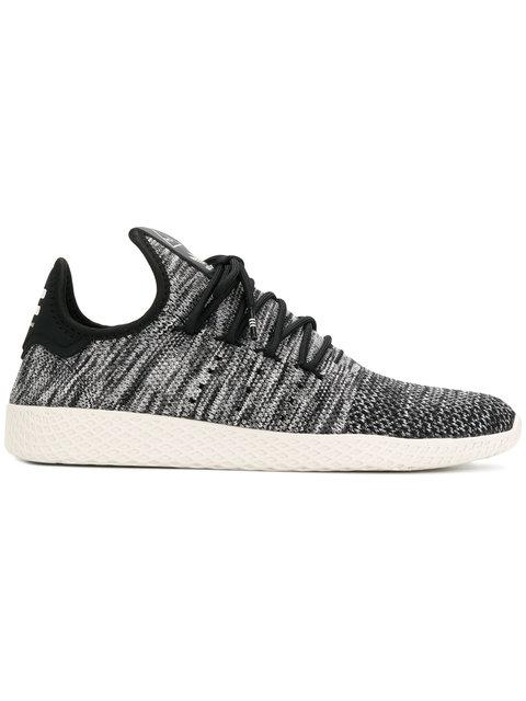 Adidas Originals By Pharrell Williams Adidas X Pharell Williams Tennis Hu Sneakers In Grey