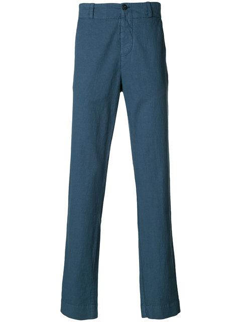 Hannes Roether Regular Trousers In Blue