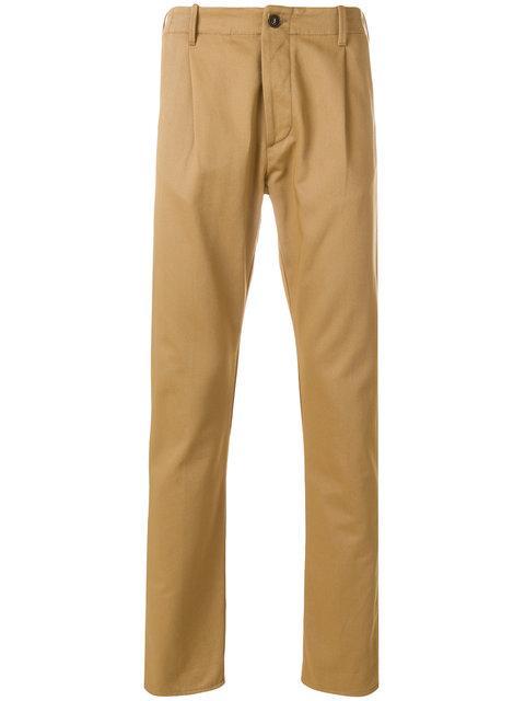 Fortela Pence Pants In Brown