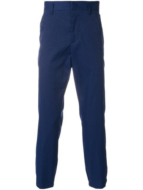 Prada Contrast Trim Trousers