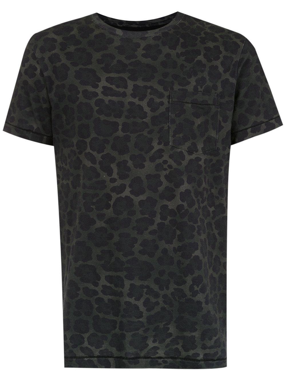 Osklen Pocket Printed T-shirt - Black