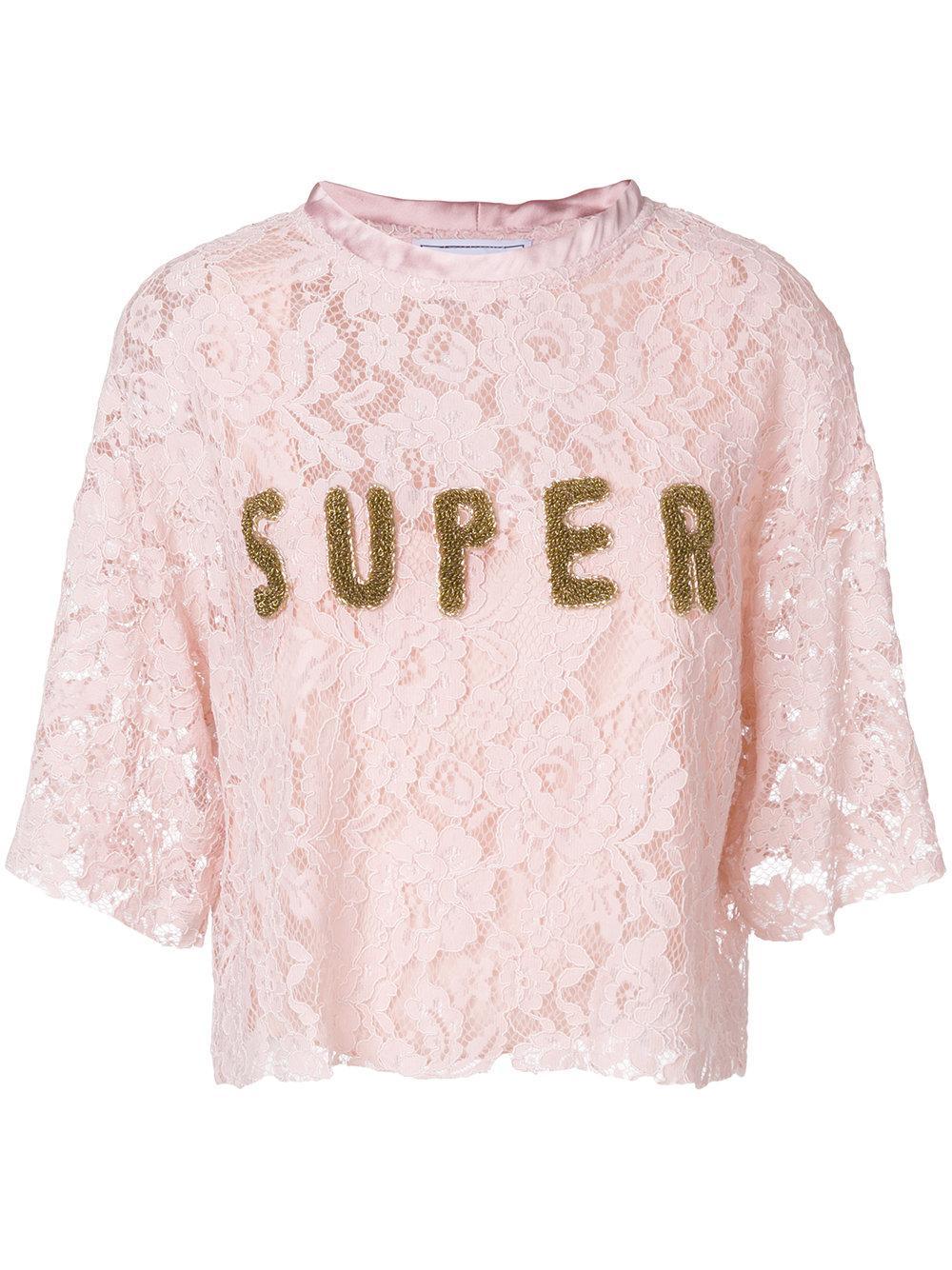 Forte Couture Super Lace Blouse