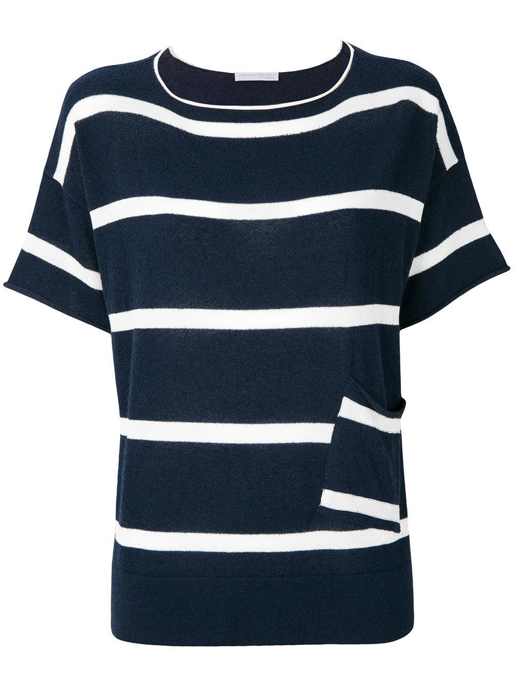 Fabiana Filippi Striped T-shirt