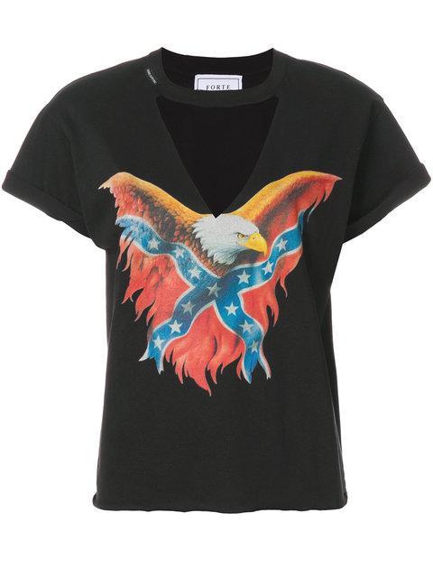 Forte Couture Eagle Print T