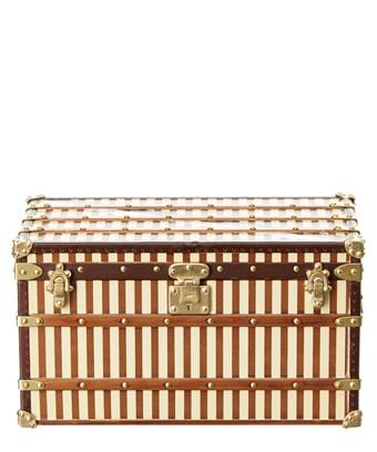 Louis Vuitton Brown Trunk Paperweight In Nocolor