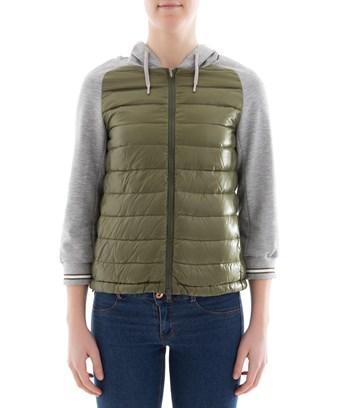 Herno Women's  Green Polyamide Down Jacket