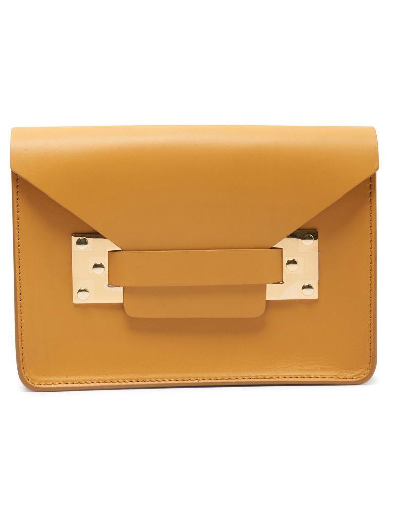 Sophie Hulme Milner Mini Bag In Senape