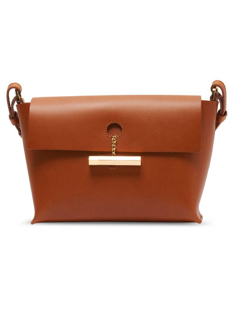Sophie Hulme Pinch Crossbody Bag In Brown