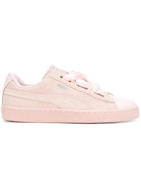Puma Suede Sneakers - Pink & Purple