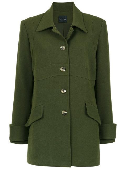 Olympiah Andes Coat In Green