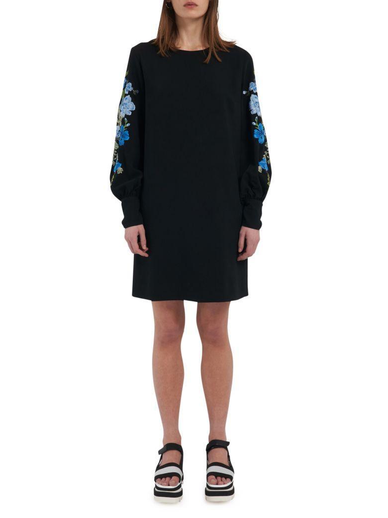 Sportmax Code Dress In Black