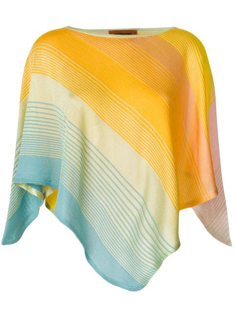 Missoni Colour-block Draped Top