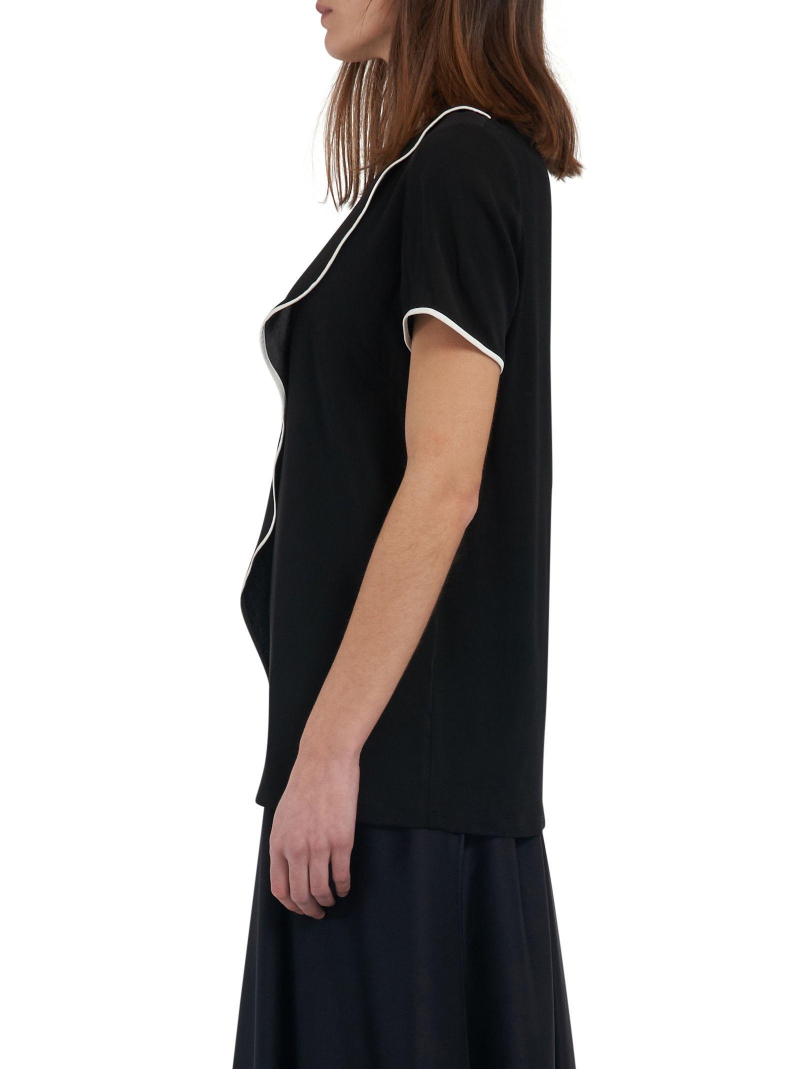 Max Mara Maxmara Primavera Blouse In Black