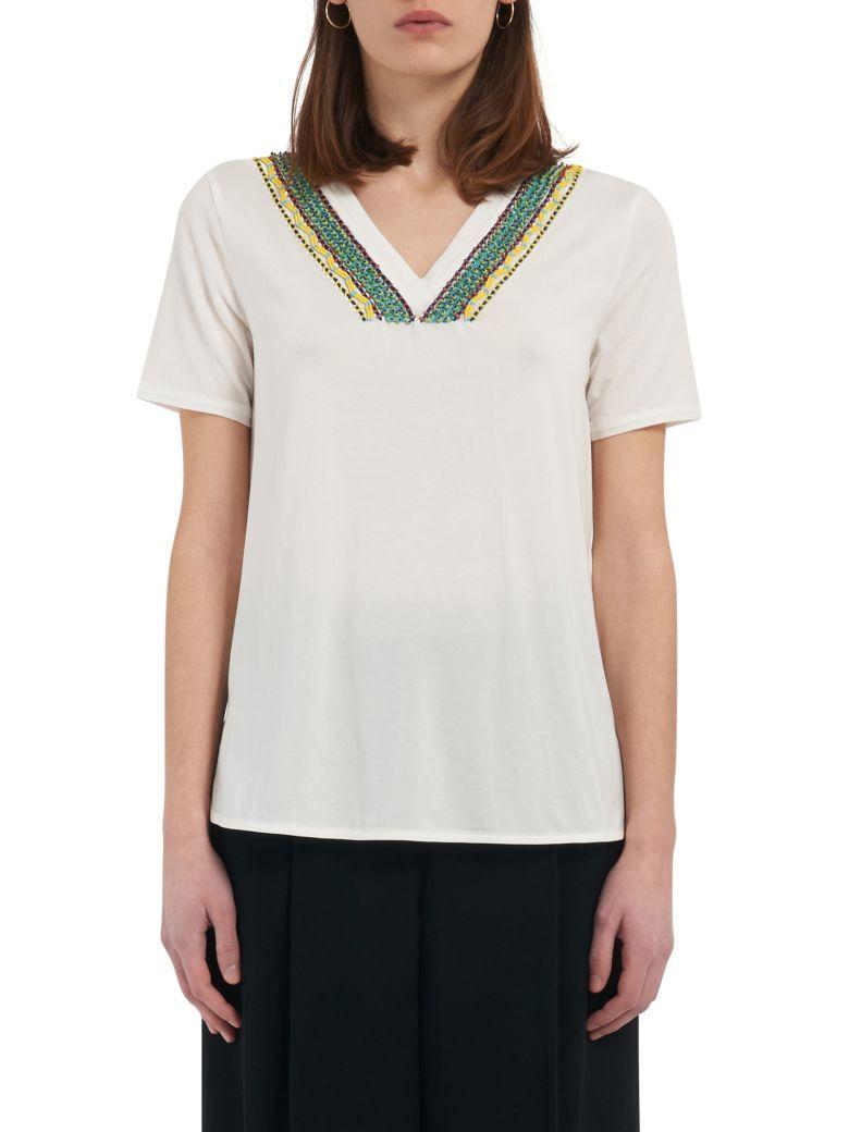Max Mara Maxmara Weekend T-shirt In White
