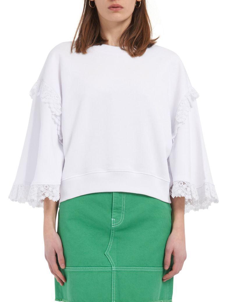 Msgm Sweater In White