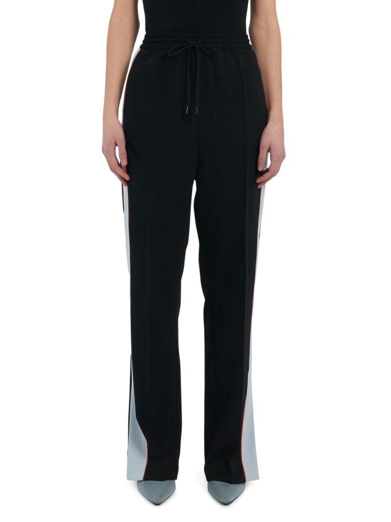 Sportmax Code Trousers In Blu Navy