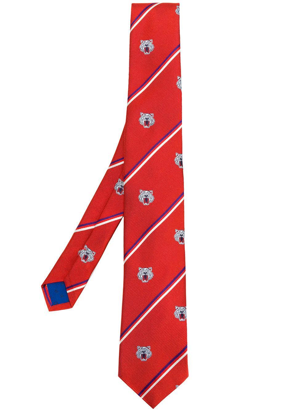 Kenzo Tiger Stripe Tie