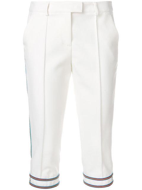 Ermanno Scervino Stripe Trim Trousers
