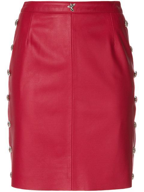John Richmond Fitted Mini Skirt