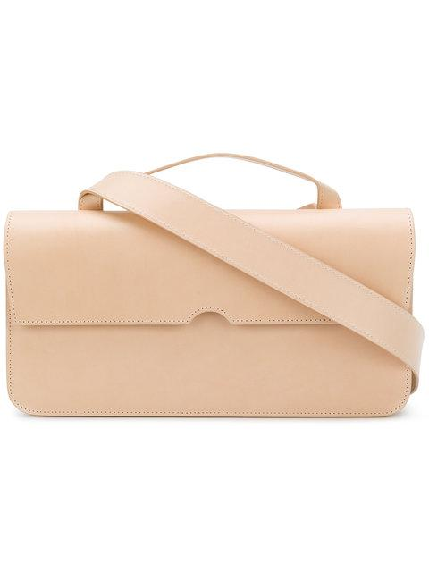 Pb Fold-over Top Shoulder Bag