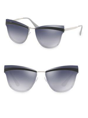 Prada Cat Eye Sunglasses In Grey