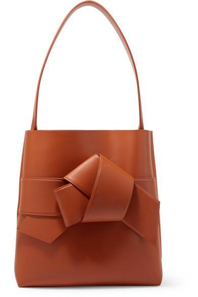 Acne Studios Musubi Large Knotted Leather Shoulder Bag