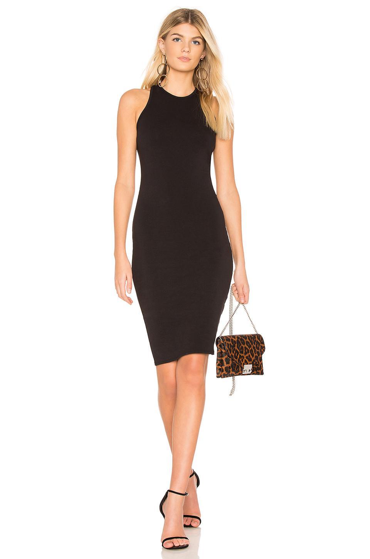 La Made Virgo Dress In Black