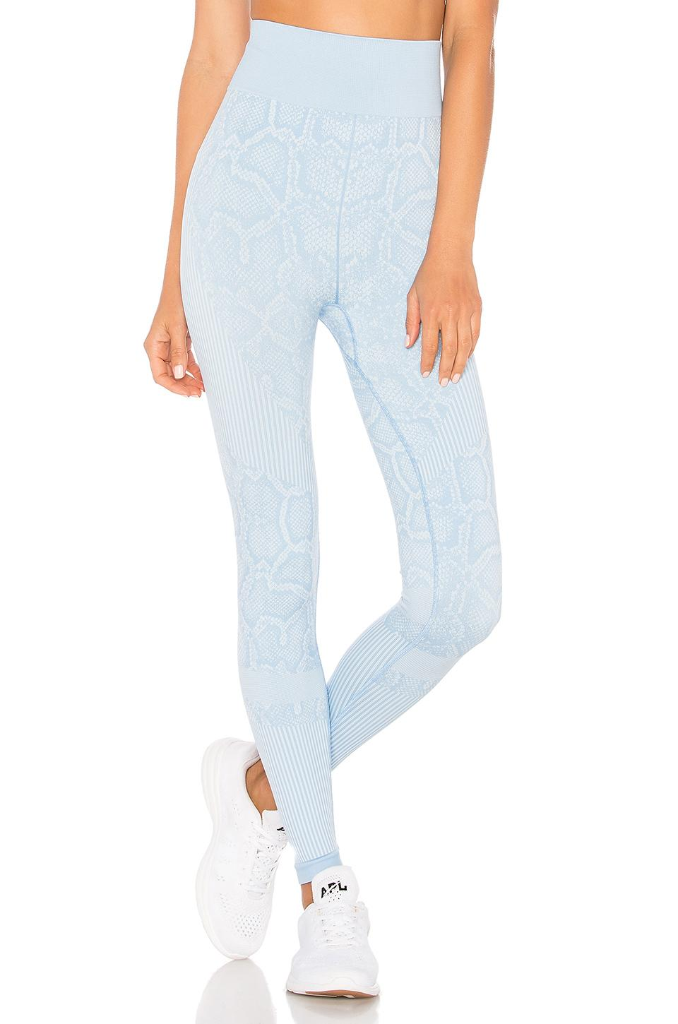 Varley Quincy High Rise Legging In Baby Blue