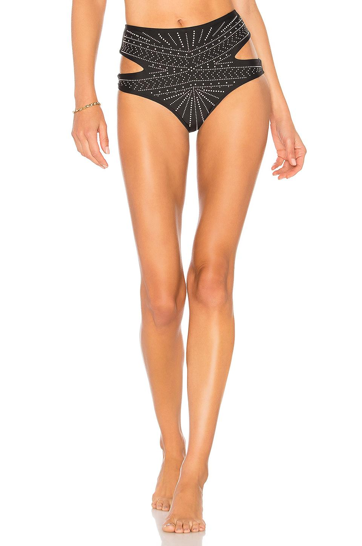Beach Riot Whitney Bikini Bottom In Black