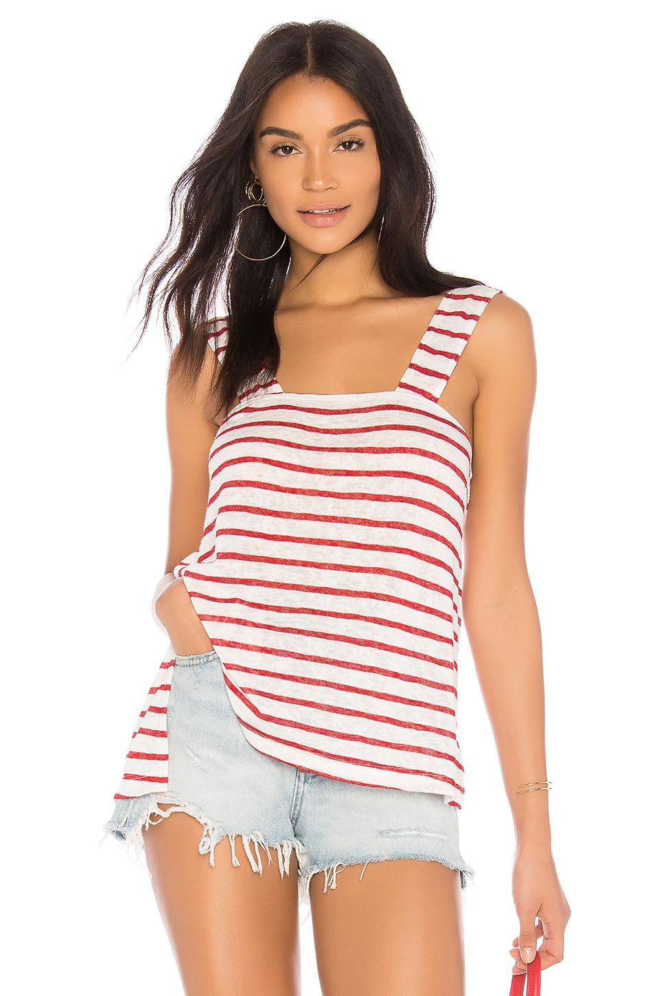 Lna Plage Tank In Red