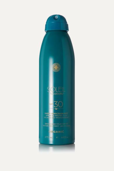 Soleil Toujours Net Sustain Spf30 Organic Sheer Sunscreen Mist, 177.4ml In Colorless