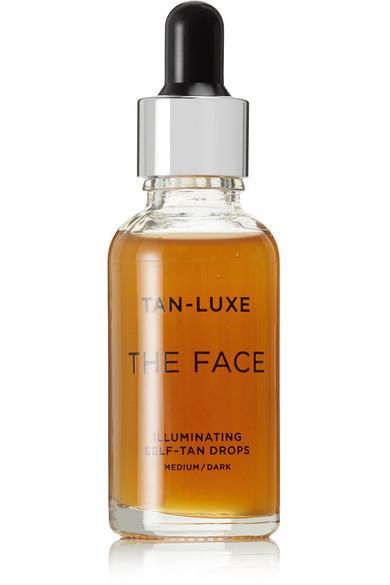 Tan-luxe The Face Illuminating Self-tan Drops - Medium/dark, 30ml In Colorless
