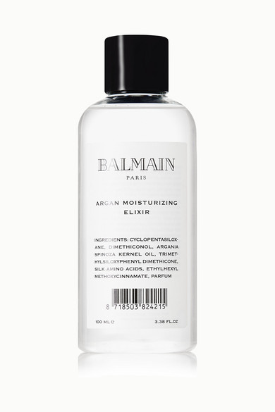 Balmain Paris Hair Couture Argan Moisturizing Elixir, 100ml - One Size In Colorless