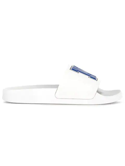 Joshua Sanders Beach Slides - White